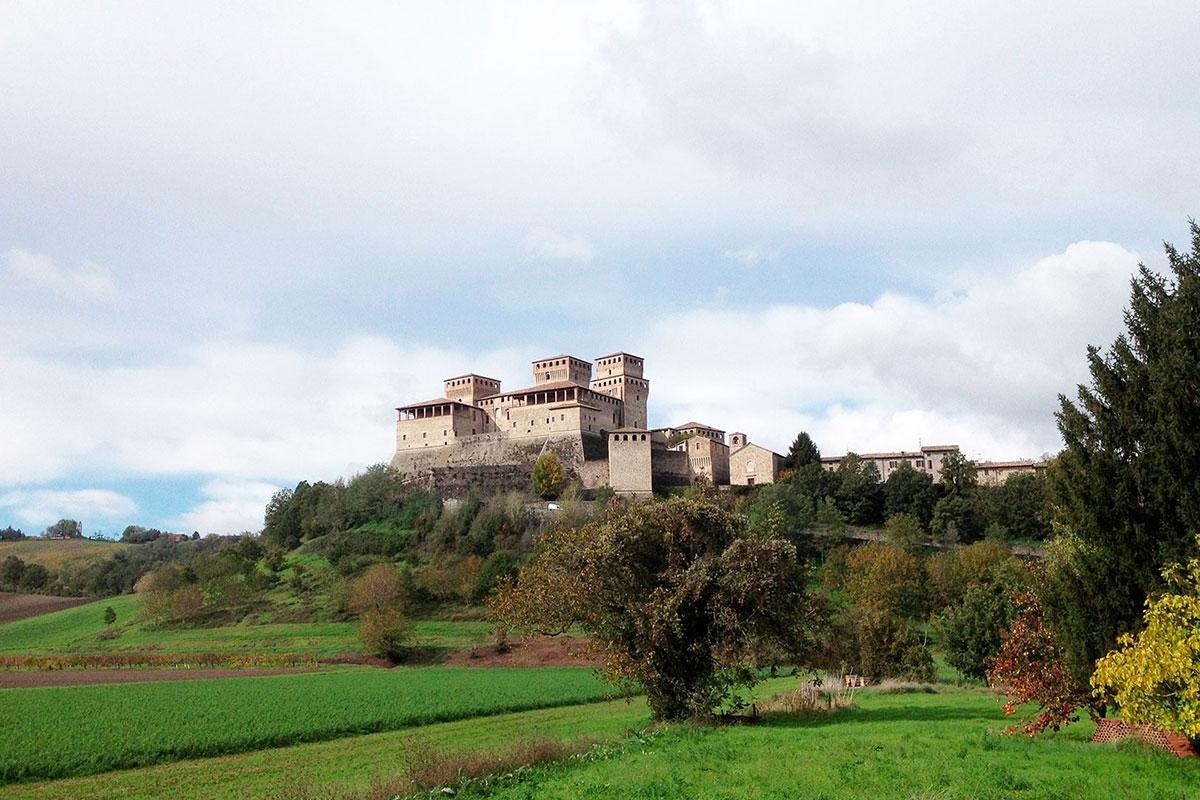 The Castle of Torrechiara