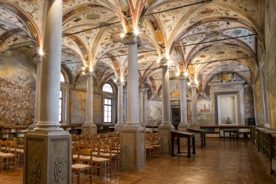 Guided tours of the Library of Saint John the Evangelist and Palatina Library