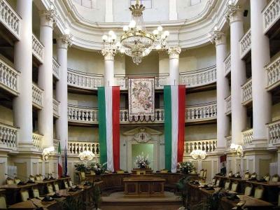 Sala del Tricolore: Reggio Emilia, Napoleone e la prima bandiera italiana