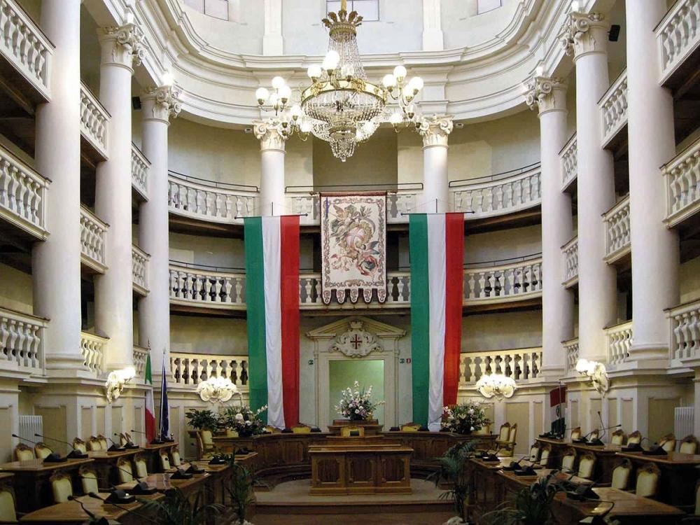 Reggio Emilia, Napoleon and the first Italian Flag